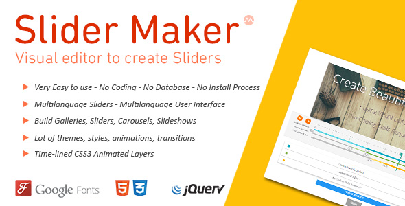 jQuery Slideshow builder